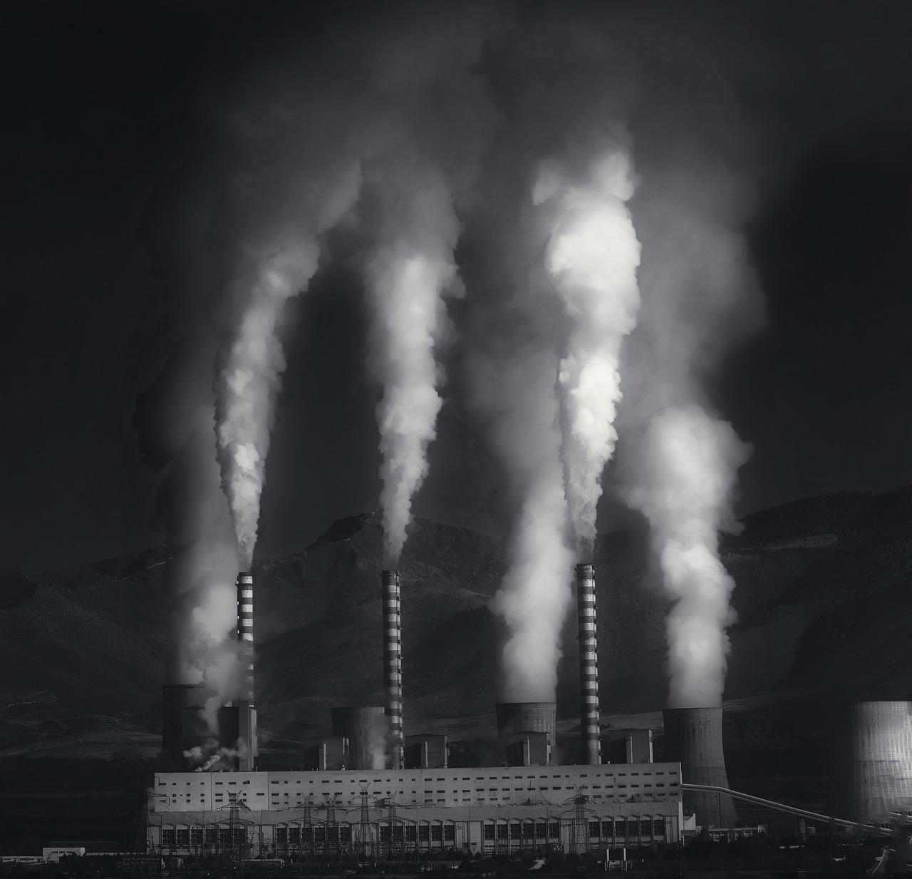 grijze energie fabriek